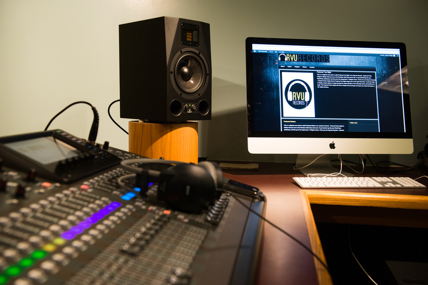 I have a second music child to look after now--RVU Records, Vanderbilt's student-run recording company.